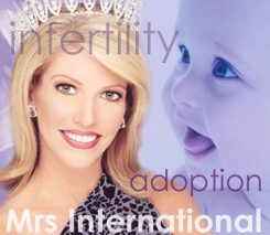 Hope turns to Faith: Mrs International 2003 and Infertility